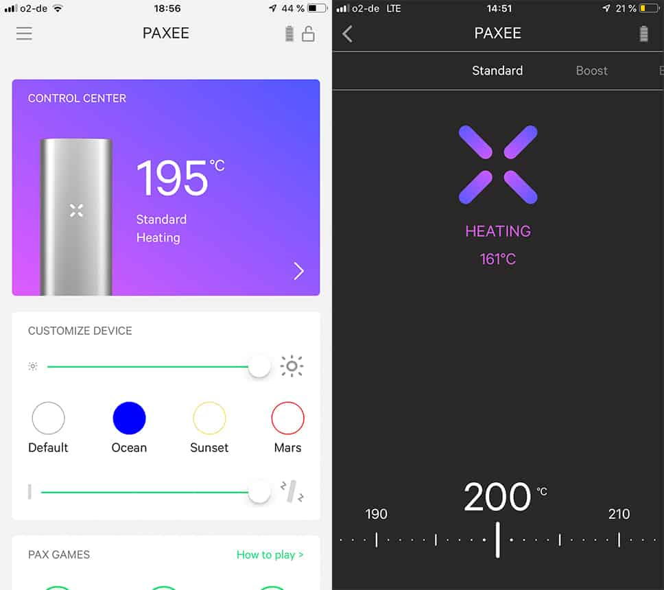 Everything under control: The sensational PAX 3 Vaporizer app