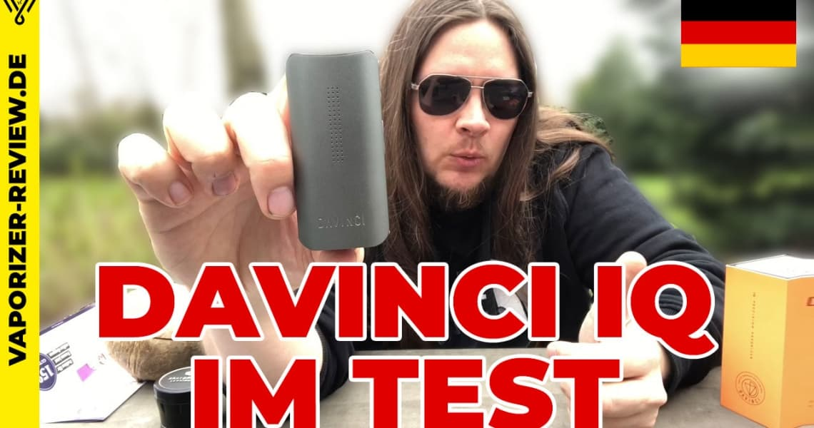 Davinci IQ Vaporizer im Video Review