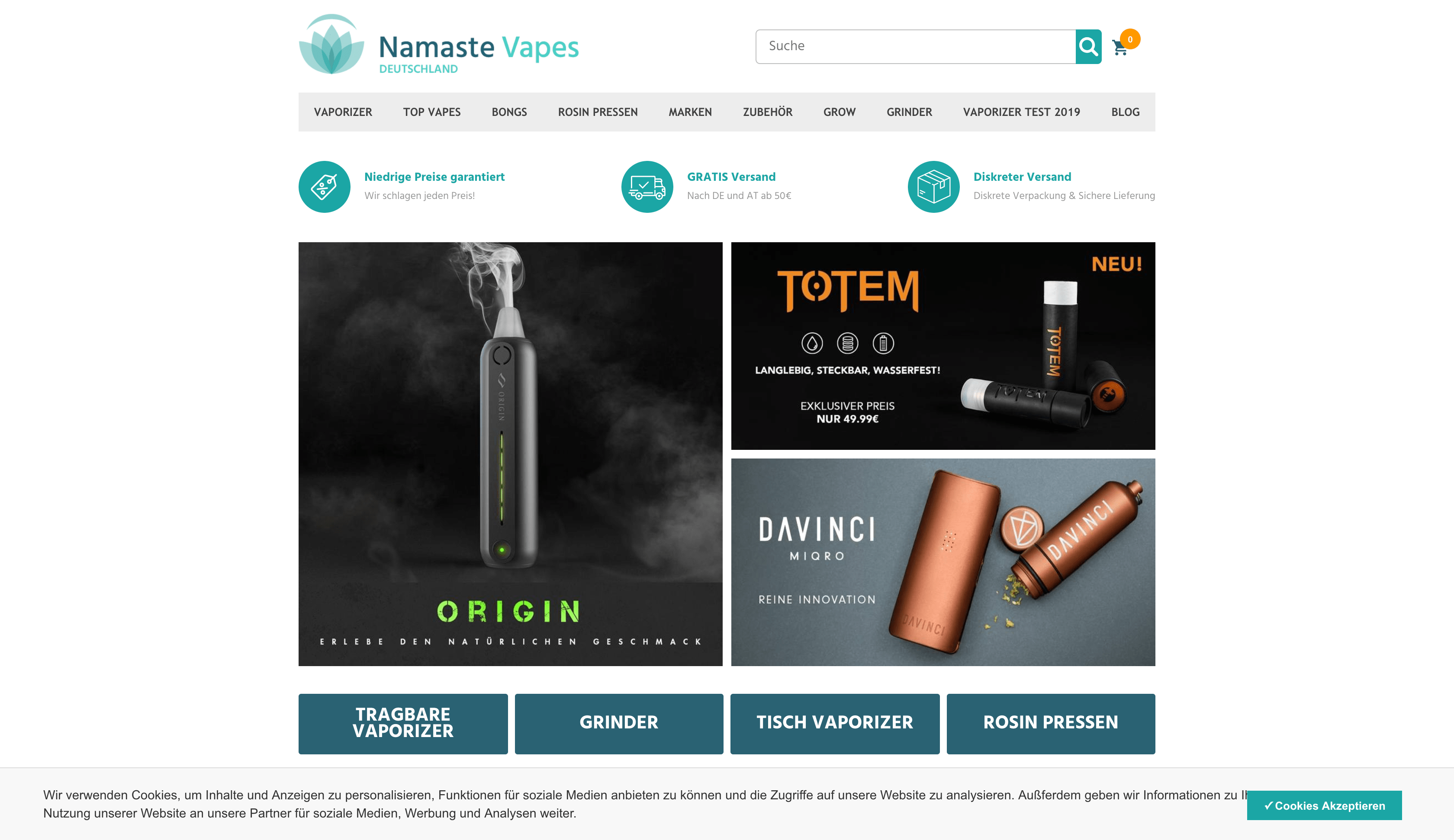 Namastevapes Vaporizer Shop