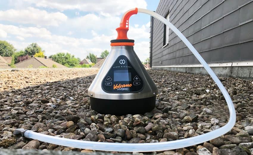Volcano Hybrid Vaporizer Mit Schlauch
